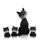 Статуэтки кошек, котов и котят