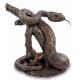 Статуэтки крокодилов, фигурки змей