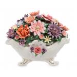 Цветочные композиции из итальянского фарфора Pavon.