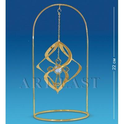 """Фигурка подвесная """"Крест"""" 11x11x22 см., Crystal Temptations, США"""