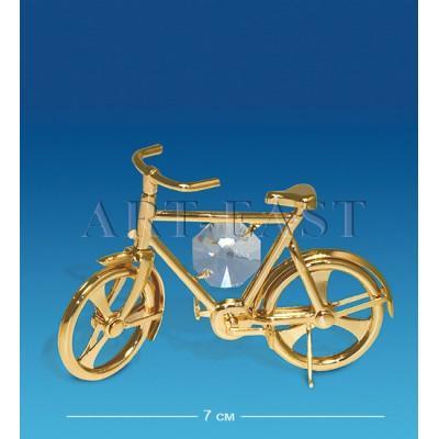 """Фигурка """"Велосипед"""" 7x2,5x4,5 см., Crystal Temptations, США"""