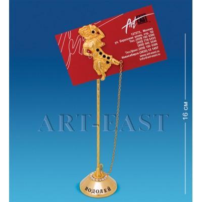 """Держатель для визиток """"Водолей"""" 4,5x4x16 см., Crystal Temptations, США"""