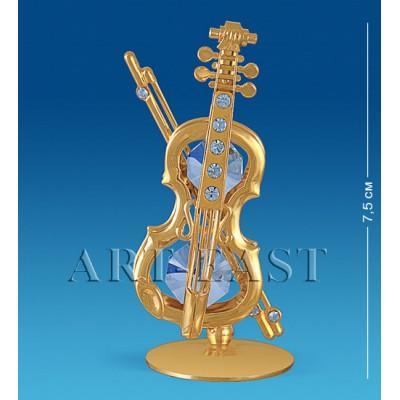 "Фигурка ""Скрипка"" 4x3x7,5 см., Crystal Temptations, США"