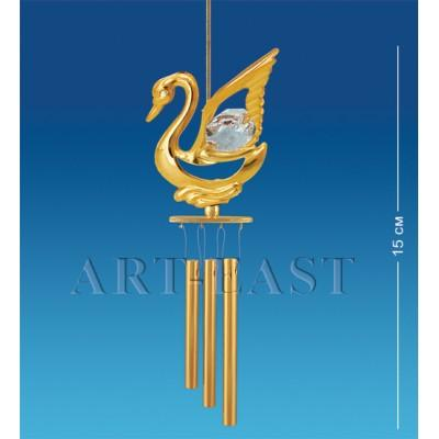 """Поющий ветерок """"Лебедь"""" 4x3,5x15 см., Crystal Temptations, США"""