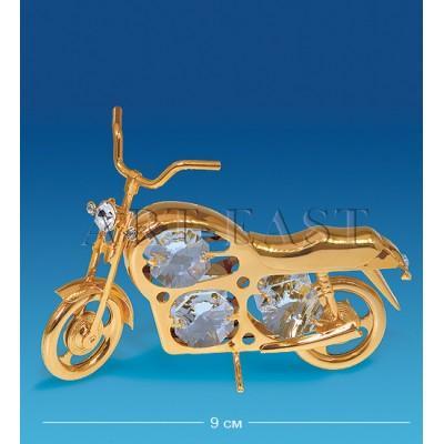 "Фигурка ""Мотоцикл"" 9x2,5x6 см., Crystal Temptations, США"
