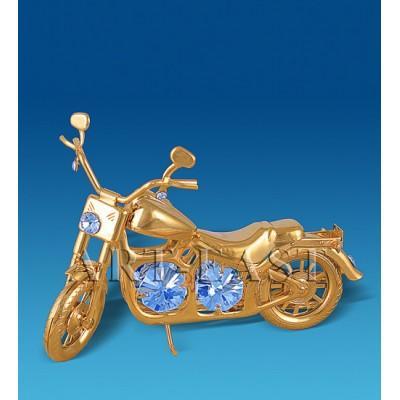 "Фигурка ""Мотоцикл Харлей"" 10,5x4x7 см., Crystal Temptations, США"