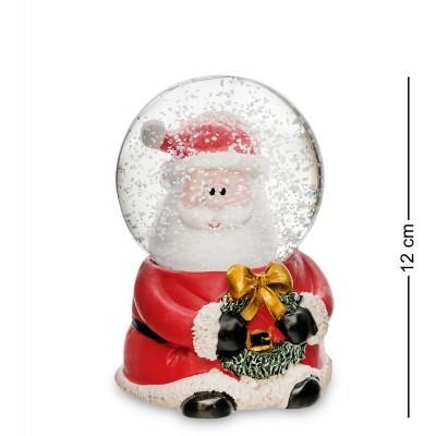 "Шар со снегом муз. с подсветкой ""Санта Клаус"", 12 см., PM-53"
