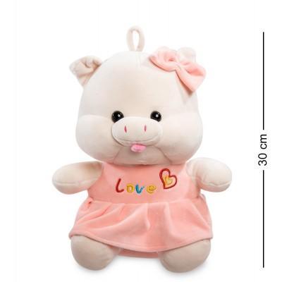 Мягкая игрушка свинка, 26х18х30 см., PT-09
