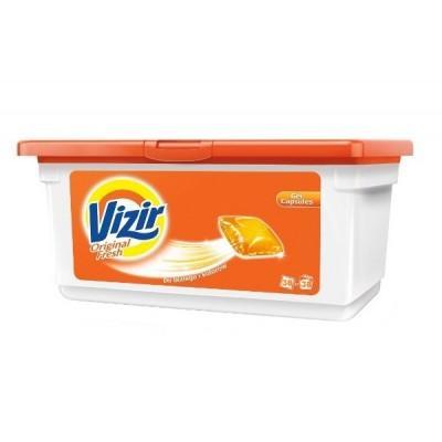 Гель-капсулы для стирки Vizir Original Fresh 38 шт