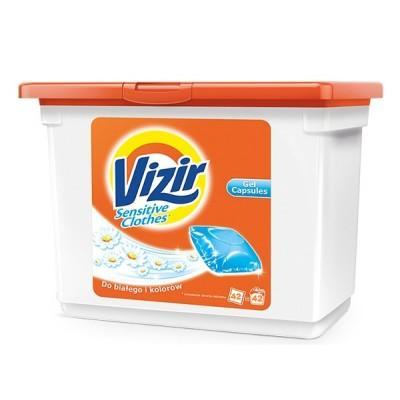 Гелевые капсулы для для деликатной стирки Vizir Sensitive 42 шт