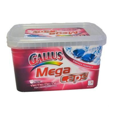 Гелевые капсулы для стирки Gallus Mega Caps 32 шт