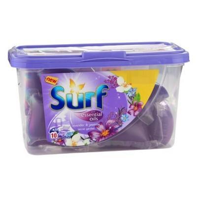 Капсулы для стирки универсал Surf Essential Oils 10 шт