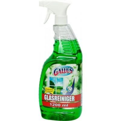 Моющее средство для стекол Gallus Glasreiniger Green, 1200 мл