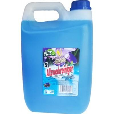 Универсальное средство для мытья полов Passion Gold, синий 5000 мл