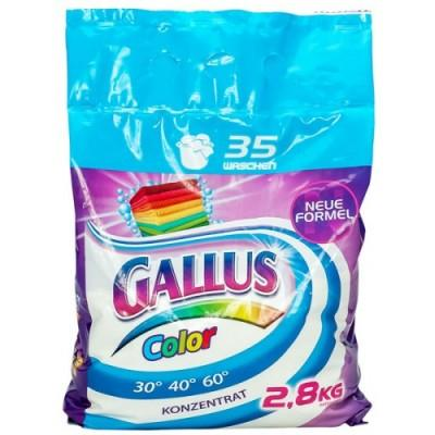 Стиральный порошок Gallus New Formel Color, для цветного 2,8 кг