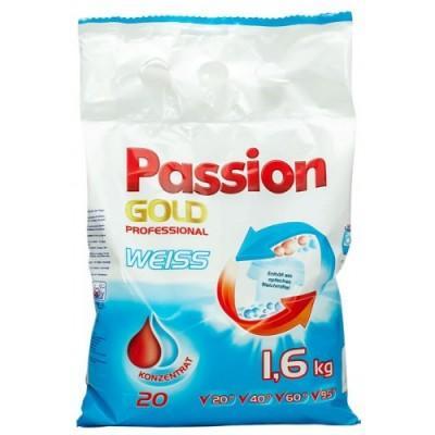 Порошок для стирки Passion Gold Weiss, для белого белья 1,6 кг