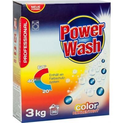 Стиральный порошок Power Wash Professional Color, для цветного 3 кг