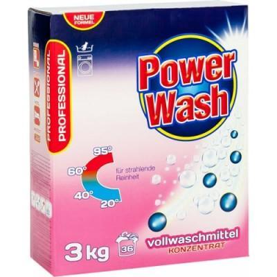 Стиральный порошок Power Wash Vollwaschmittel Professional 3 кг