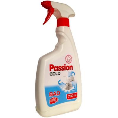 Средство для уборки ванной комнаты Passion Gold Bad Milch Spray, 750 мл