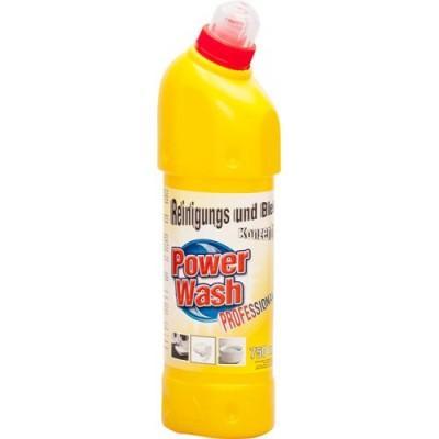 Средство для чистки унитаза Лимонная свежесть Power Wash 750 мл