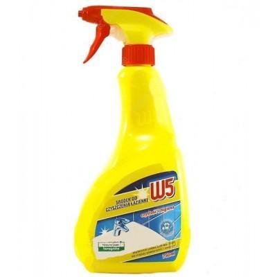 Средство для чистки ванной комнаты W5 Bathroom Cleaner, 750 мл