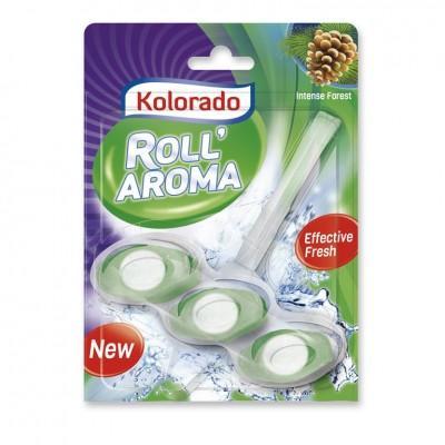 Стик для унитаза Kolorado Roll Aroma Intense Forest, 1*51 гр
