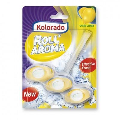 Стик для унитаза Kolorado Roll Aroma Cristal Lemon, 1*51 гр