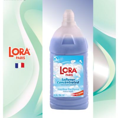 Концентрированный кондиционер-ополаскиватель Lora Paris, морской 1,5 л