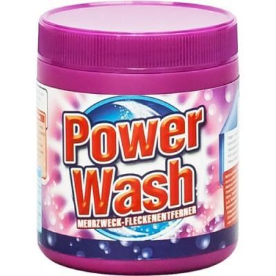 Пятновыводитель порошкообразный для тканей Power Wash 600 гр