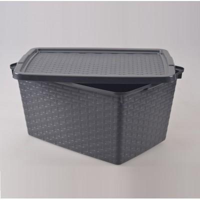 Контейнер для хранения 10 л, 33х23х16 см Heidrun 4510