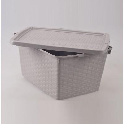Контейнер для хранения 40 л, 59х39х26 см Heidrun 4512