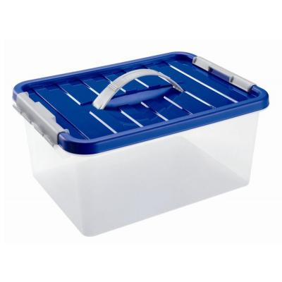 Контейнер для хранения с ручкой и крышкой 8 л, 34х23х16 см Heidrun 1632