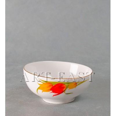 """Салатник """"Тюльпаны"""" 12,5см., фарфор"""