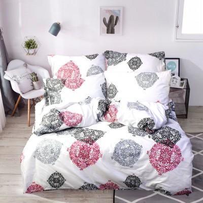 Комплект постельного белья Семейный, Сатин (ЕС0182)