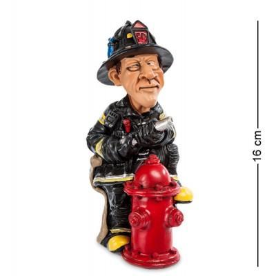 """Статуэтка """"Пожарный"""" 7x7,5x16 см., полистоун Warren Stratford Канада"""