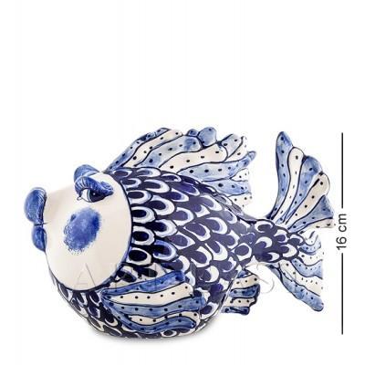 """Фигурка """"Рыба"""" 25x15x16 см., Blue Sky, Италия"""