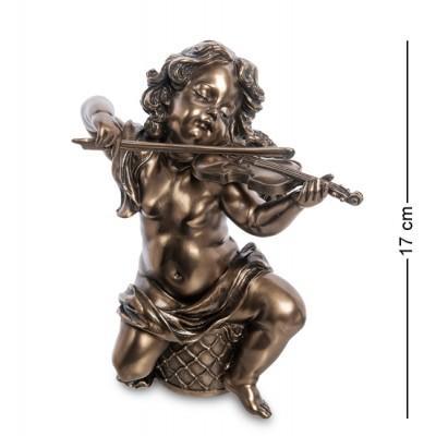 """Статуэтка """"Херувим со скрипкой"""", 14х5,5х17,5 см., Veronese, Гонконг"""