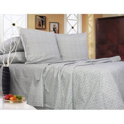 Комплект постельного белья Двуспальный, Ранфорс (2-х сп.ЕР0090)