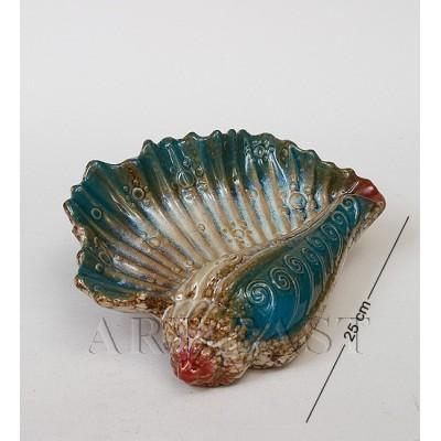 Фигура декор. Ракушка 25 см., керамика