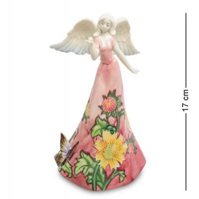 """Фигурка """"Девушка-ангел"""" 10,5x8x17 см., фарфор Pavone, Италия"""