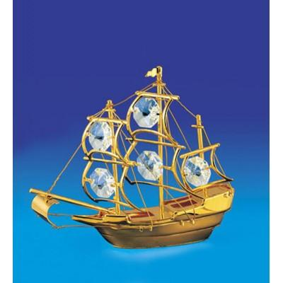 "Фигурка ""Корабль"" 10x4x8 см., Crystal Temptations, США"