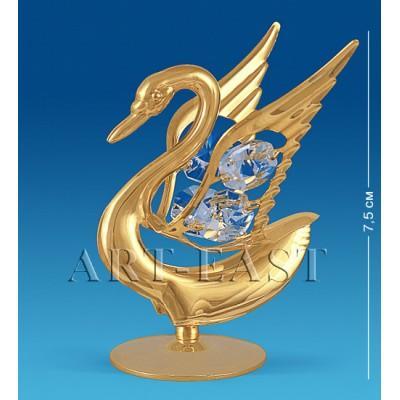 """Фигурка """"Лебедь"""" 6x6x7,5 см., Crystal Temptations, США"""