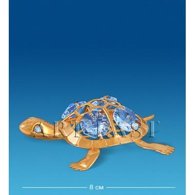 "Фигурка ""Черепаха"" 8x6,5x1,5 см., Crystal Temptations, США"