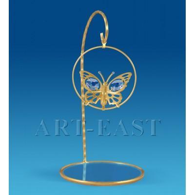 """Подвеска над зеркалом """"Бабочка"""" 14.5 см., Crystal Temptations, США"""