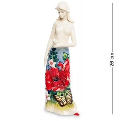 """Статуэтка """"Девушка"""" 8,5x7,5x26 см., фарфор Pavone, Италия"""