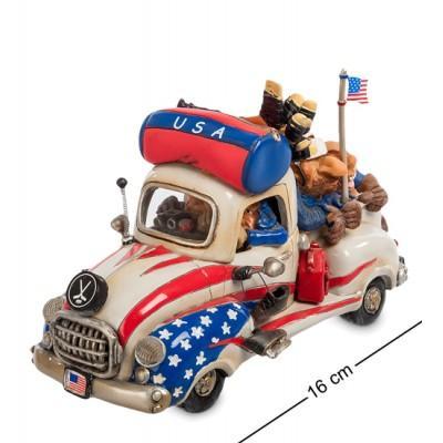 "Статуэтка машина ""USA Road Trip"", 16 см., полистоун Warren Stratford, Канада"