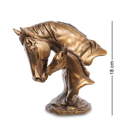 """Фигура """"Лошадь с жеребенком"""", 18 см., MN- 39"""