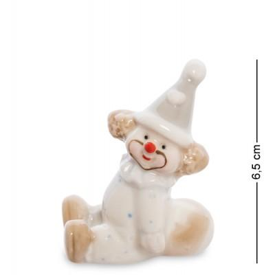 "Фигурка ""Клоун"", 5х4х6,5 см., фарфор"