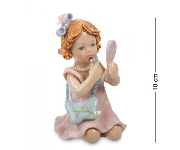 """Фигурка """"Маленькая модница"""" 5,5x6x10 см., Pavone, Италия"""