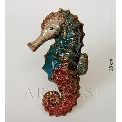 Фигура декор. Морской конек 28 см., керамика